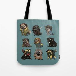 The Walking Pug Tote Bag