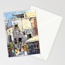 Strolling in Capri Stationery Cards
