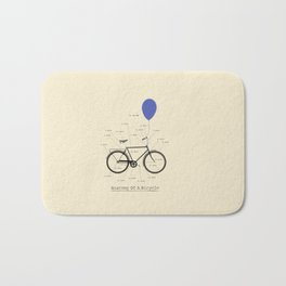 Anatomy Of A Bicycle Bath Mat