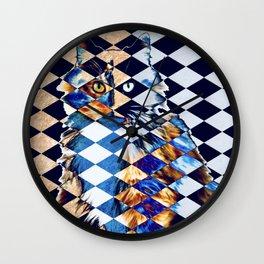Jester The Cat IIII Wall Clock