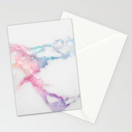 Unicorn Vein Marble Stationery Cards