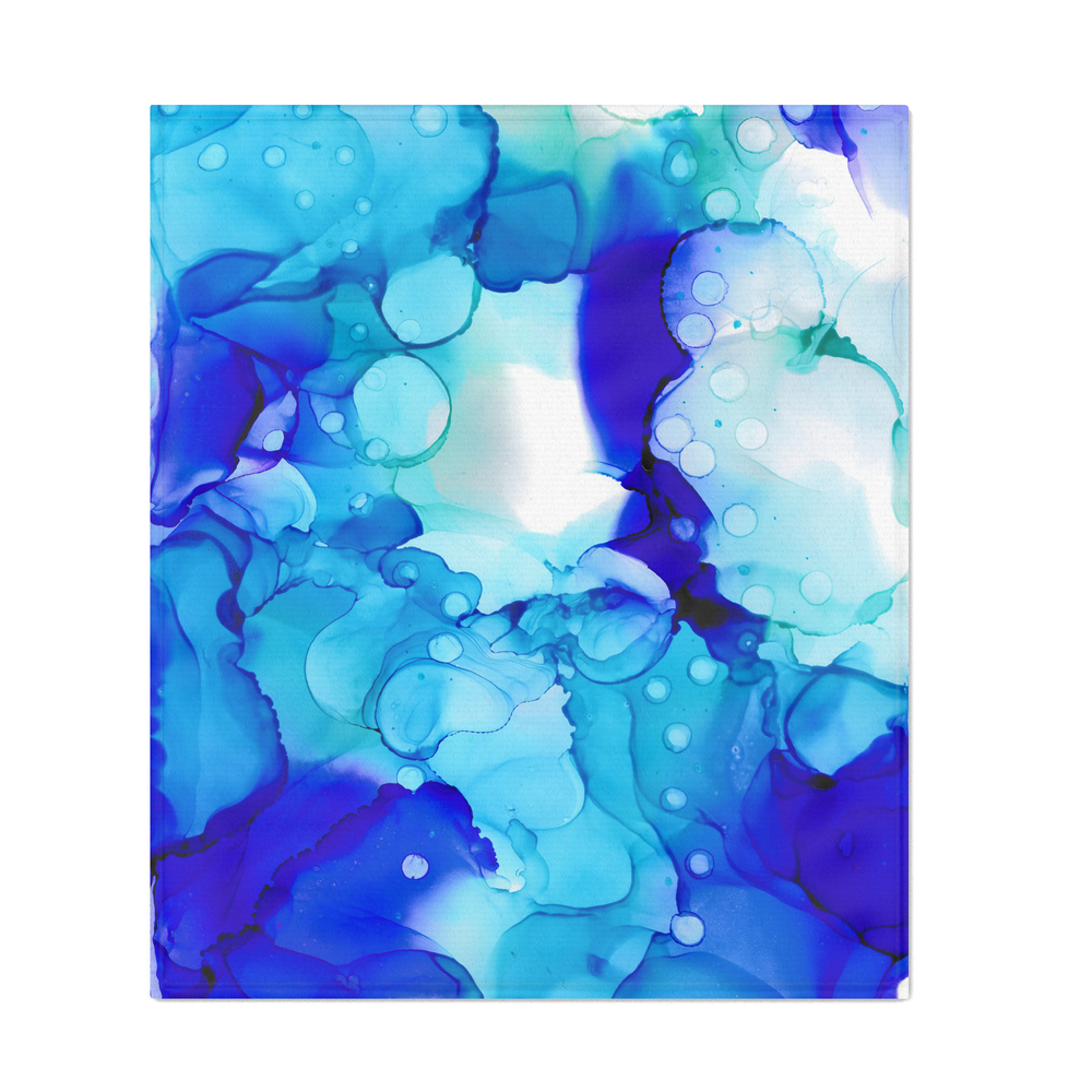 Blue_Aqua_Couch_Throw_by_caseylcarterart
