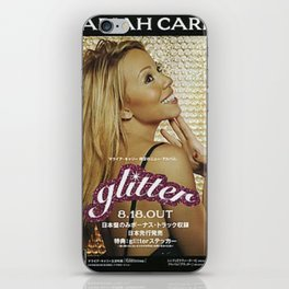 GLITTER POSTER 1 iPhone Skin