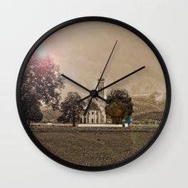 St. Koleman near Castle Neuschwanstein Wall Clock