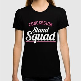 Snack Bar Food Kiosk Foodies Friends Gift Concession Stand Squad T-shirt