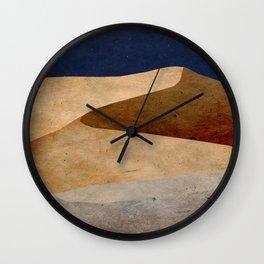 Desert Wall Clock