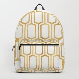 Mediterranean Metallics Backpack