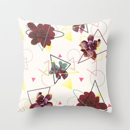 Spatial Succulents #redbubble #decor #buyart Throw Pillow