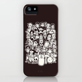 Point and Click  iPhone Case