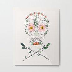 PRETTY DEAD Metal Print
