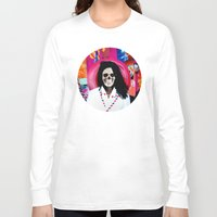 bjork Long Sleeve T-shirts featuring Bjork Tee! by Eric Terino