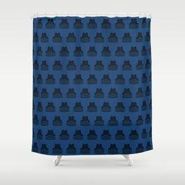 Kendo do and gi t-shirt Shower Curtain