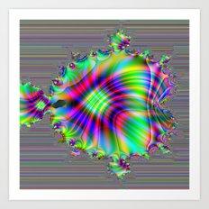 Fractal Fish Art Print