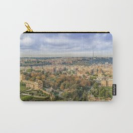Vatican Gardens Aerial View, Rome, Italy Carry-All Pouch
