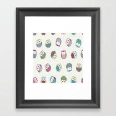 Little Owls Framed Art Print