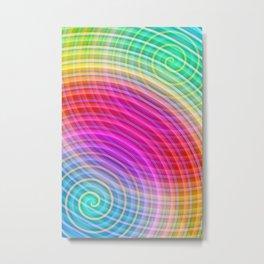 Color gradient 22 Metal Print