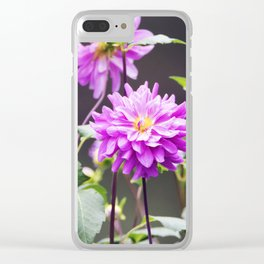 Longwood Gardens Autumn Series 107 Clear iPhone Case