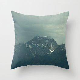 Stormy Mountains (Sierra Nevadas, California) Throw Pillow