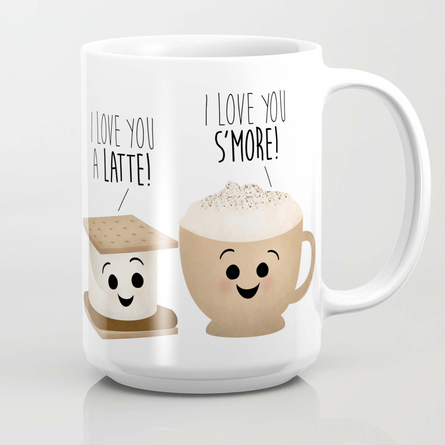 I Love You A Latte I Love You S More Coffee Mug By Avenger Society6