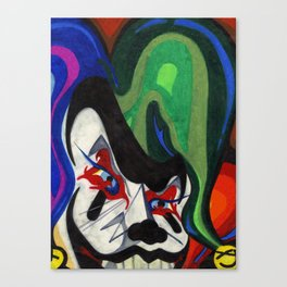 Jester Canvas Print