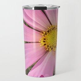 Pink cosmos flower Travel Mug