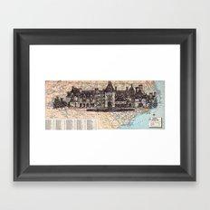 North Carolina Framed Art Print