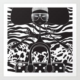 Marc Jacobs Close Art Print
