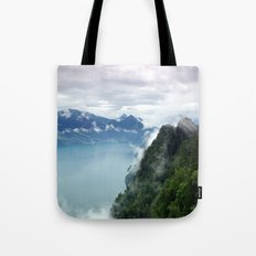End of the Lake. Tote Bag
