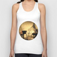 lab Tank Tops featuring the lab by XfantasyArt