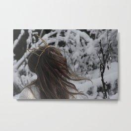 wintergirl Metal Print