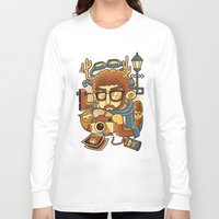 instagram Long Sleeve T-shirts featuring Instagram by anggatantama