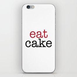 Eat Cake iPhone Skin