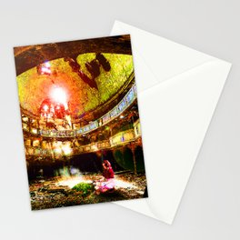 The Flower Girl - Final Fantasy VII Stationery Cards