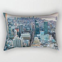 New York City (Color) Rectangular Pillow
