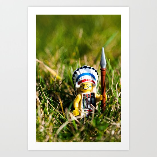 Going Native Art Print