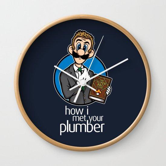 How I Met Your Plumber Wall Clock