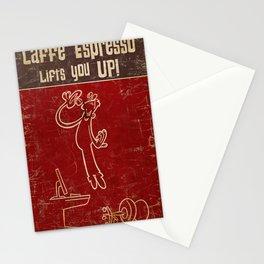 Caffe' Espresso Stationery Cards