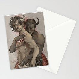 Devil's Embrace Stationery Cards