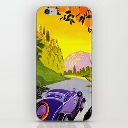 Visit Greece in Auto Travel iPhone Skin