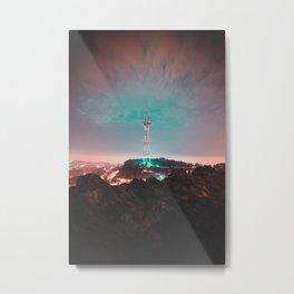 San Francisco : Sutro Tower Metal Print