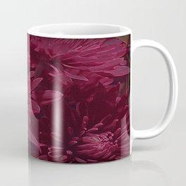 Burgundy Chrysanthemums Coffee Mug