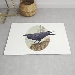 Raven of the North Atlantic Rug
