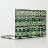 bamboo Laptop & iPad Skins featuring Bamboo by Zandonai Pattern Designs
