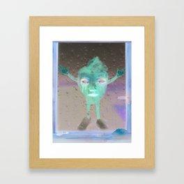 let him in Framed Art Print