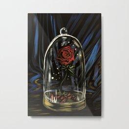 Enchanted Rose Metal Print