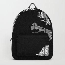 Pixel Crossbones Glith Backpack