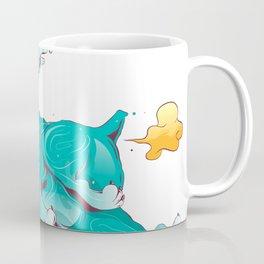 Bull dog crazy and farter Coffee Mug