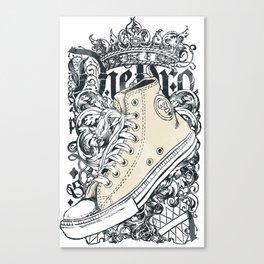 SHOES--DESIGN Canvas Print