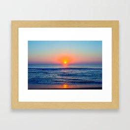 kill devil sunrise Framed Art Print