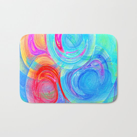 abstract planets Bath Mat